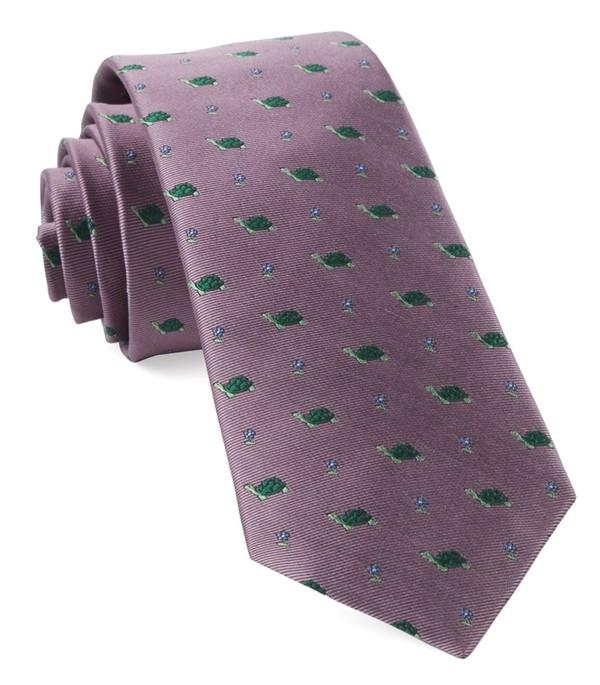 Turtle Island Pink Tie
