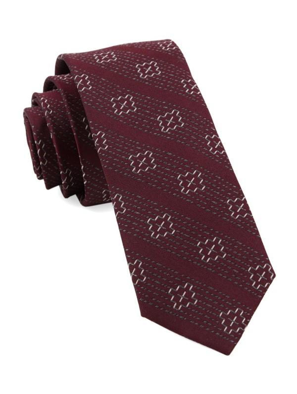 Native Thread By Dwyane Wade Burgundy Tie