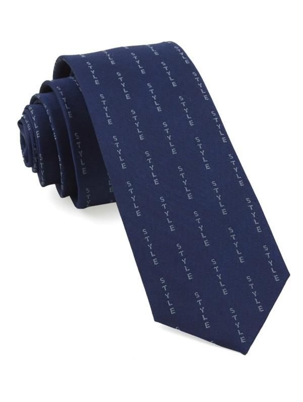 Style Pinstripe By Dwyane Wade Navy Tie
