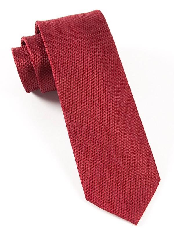 Grenafaux Burgundy Tie
