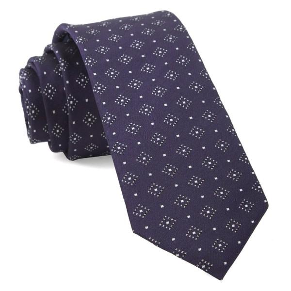 Gemstone Gala Eggplant Tie