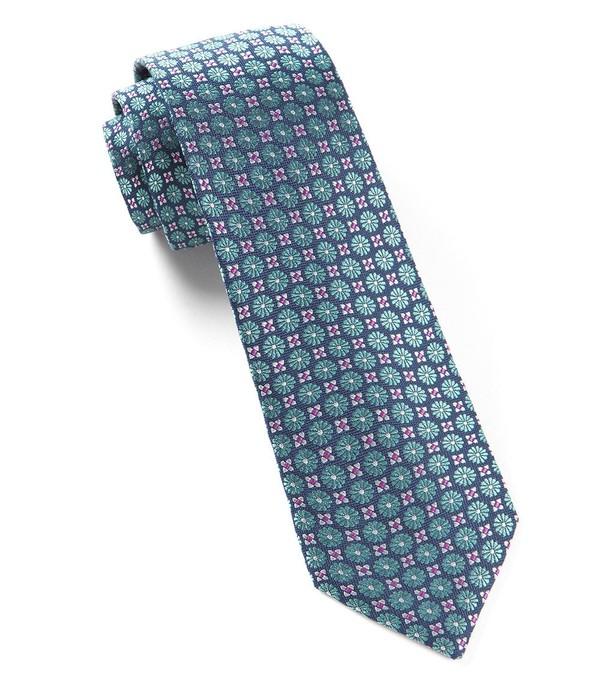 Wallflower Aqua Tie