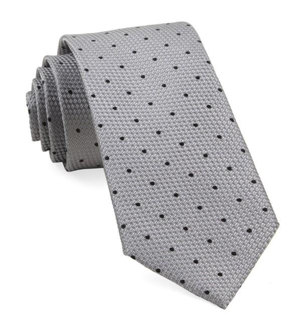 Grenafaux Dots Silver Tie