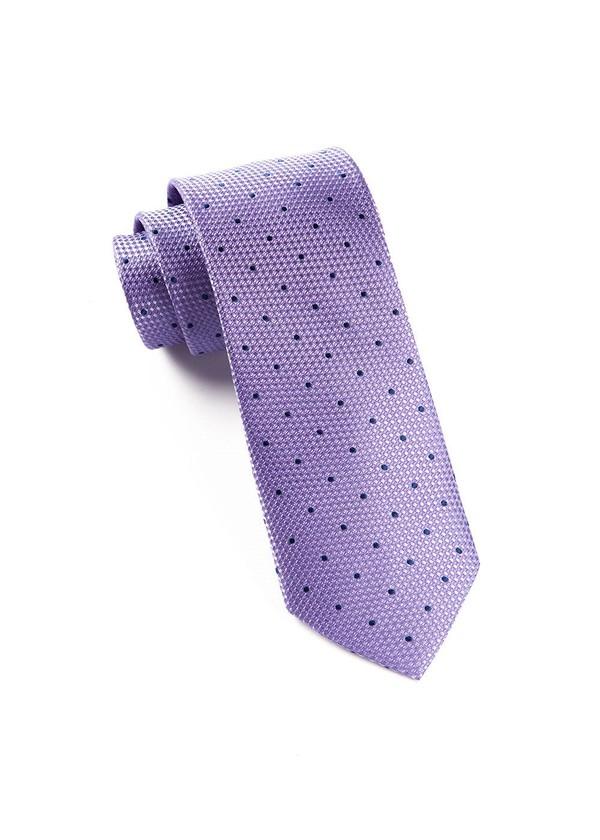 Grenafaux Dots Light Purple Tie