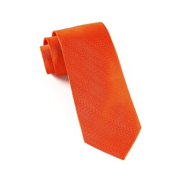 Herringbone Rust Tie