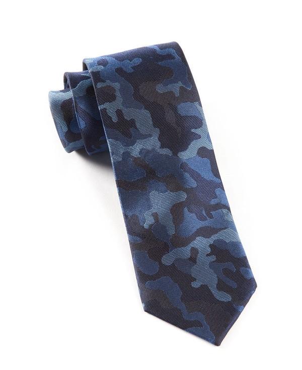 CAMO Blue Tie
