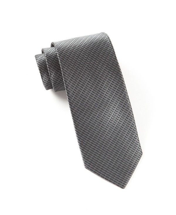 Ovation Solid Black Tie