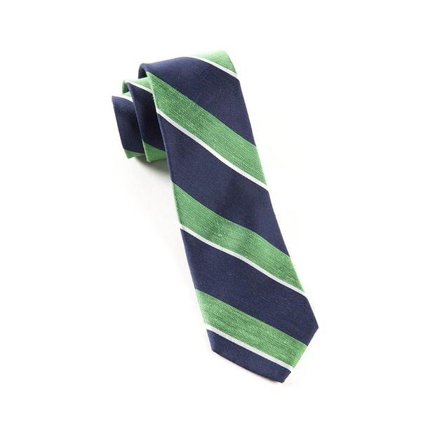 Patina Stripe Kelly Green Tie