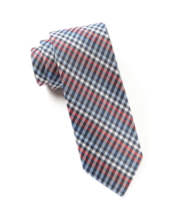 Daydream Plaid Red Tie