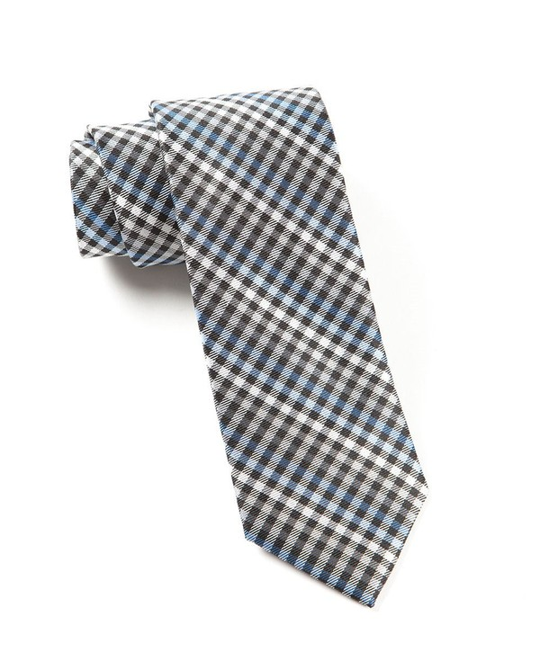 Daydream Plaid Black Tie