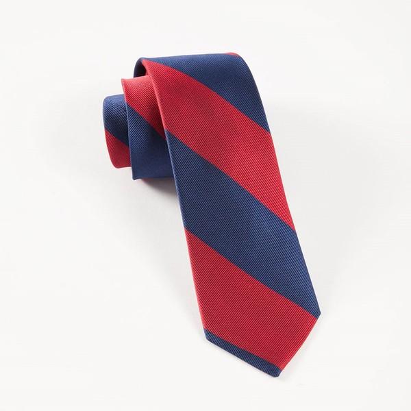 Super Stripe Red Tie
