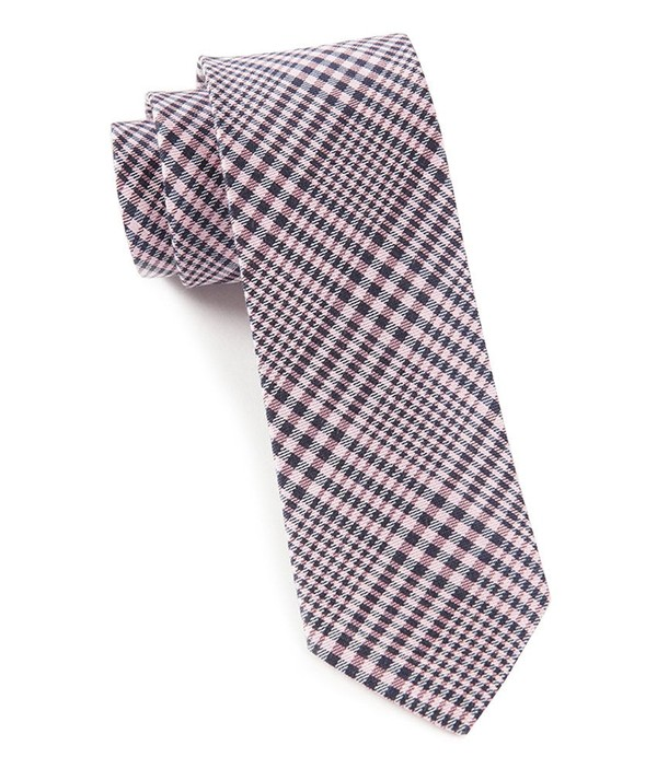 Huntington Plaid Baby Pink Tie