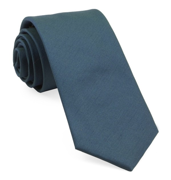 Charlotte Solid Teal Tie