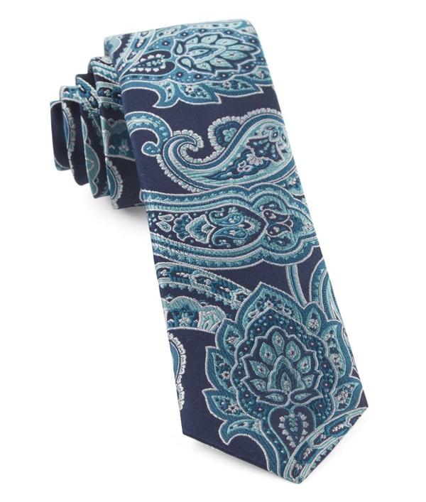 Aaron Paisley Aqua Tie