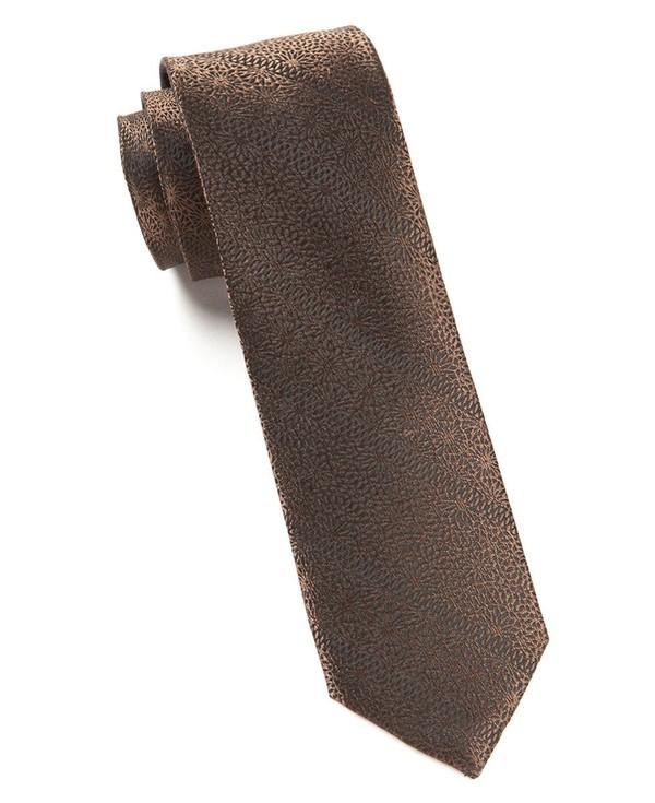 Interlaced Brown Tie