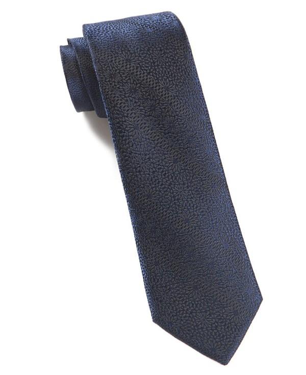 Interlaced Navy Tie