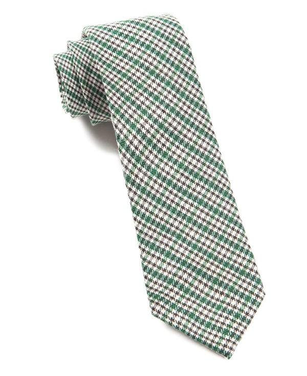 Rambling Plaid Green Tie