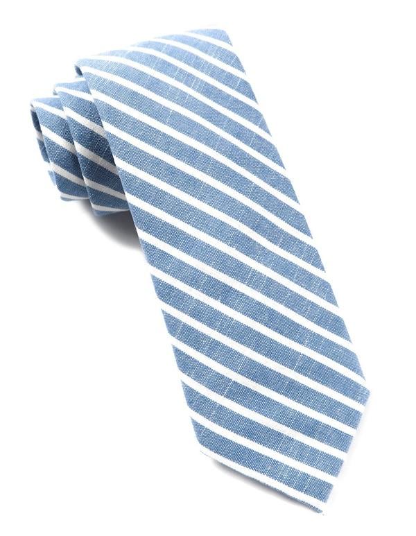 Walkover Stripe Blue Tie