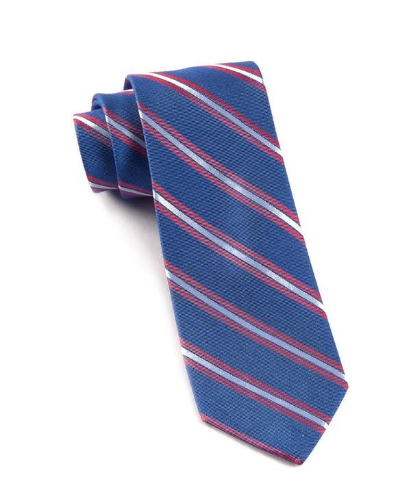 Pilot Stripe Blue Tie