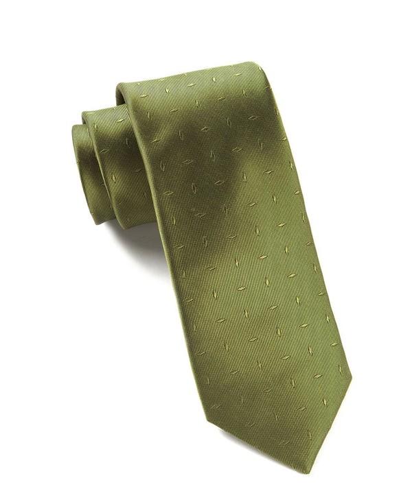 Industry Solid Woodbine Tie