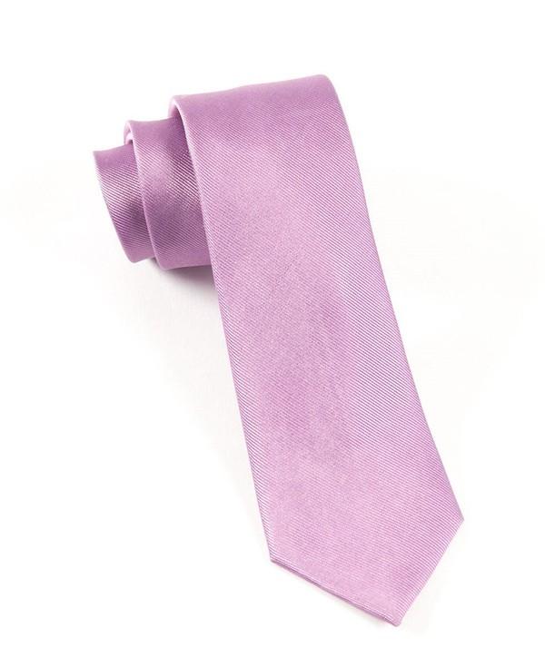 Grosgrain Solid Wisteria Tie