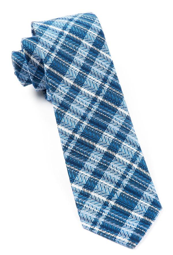 Longboard Plaid By Dwyane Wade Blues Tie