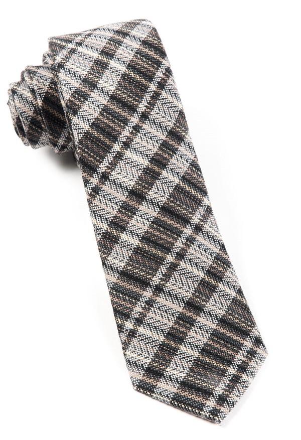 Longboard Plaid By Dwyane Wade Charcoal Tie