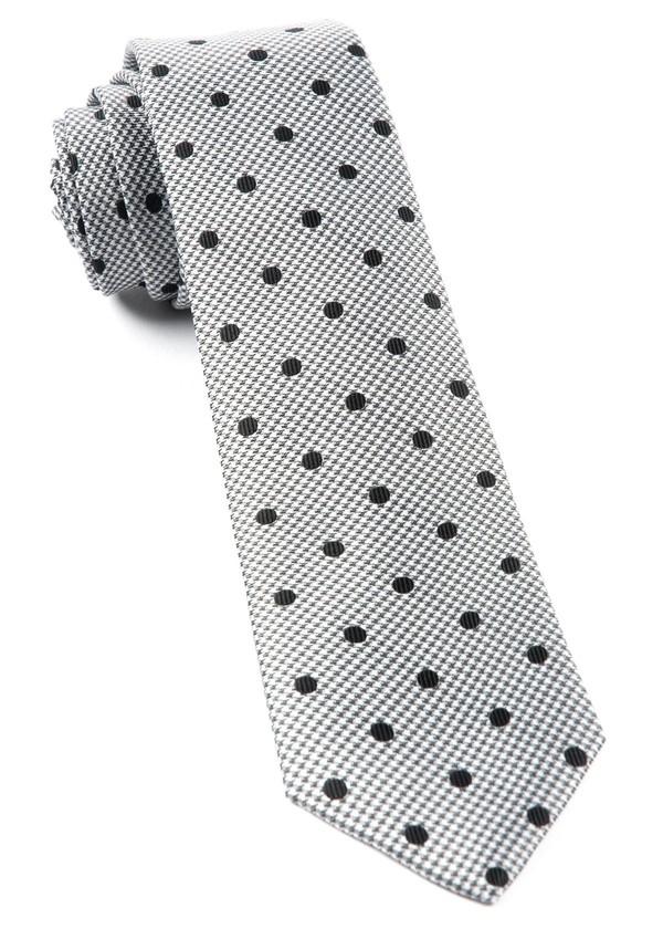 Surface Dots Black Tie