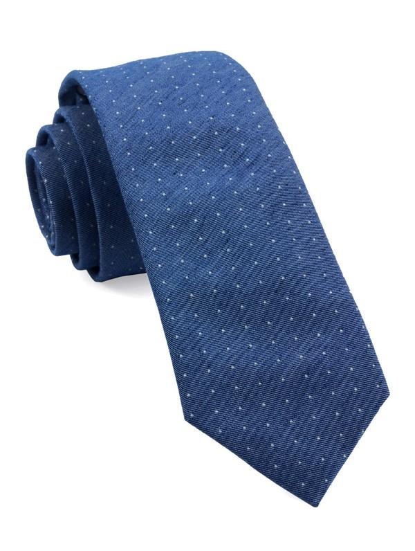 Cumberland Dots Classic Blue Tie