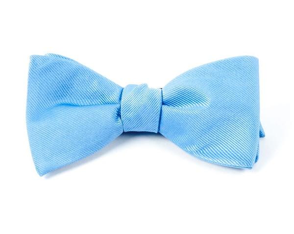 Grosgrain Solid Carolina Blue Bow Tie