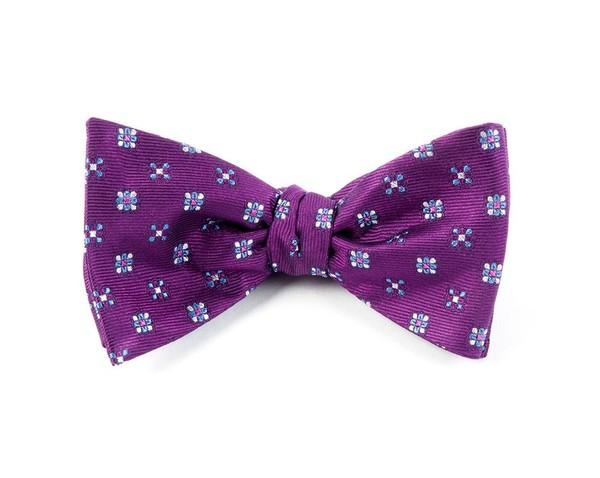 Juneberry Plum Bow Tie