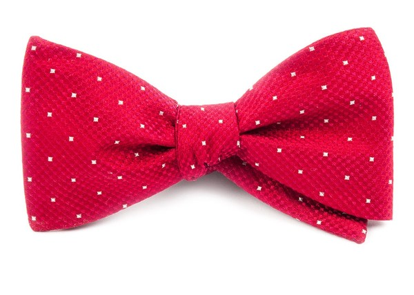 Showtime Geo Red Bow Tie
