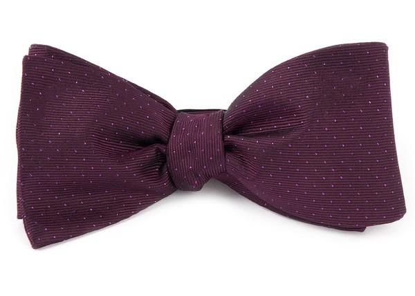 Flicker Deep Azalea Bow Tie