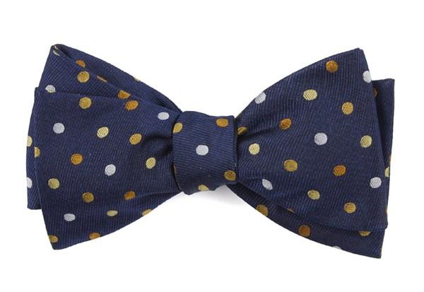 Spree Dots Yellow Bow Tie