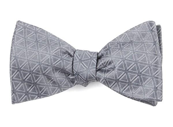 Triad Silver Bow Tie
