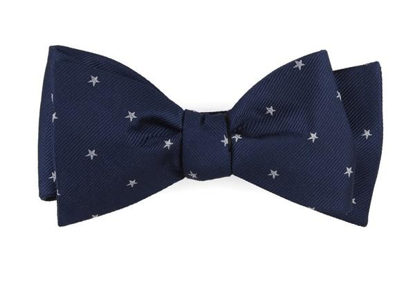 Statesman Stars Navy Bow Tie