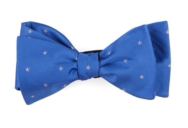 Statesman Stars Light Cobalt Blue Bow Tie