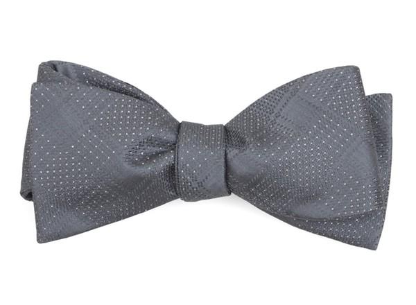 City Block Silver Bow Tie