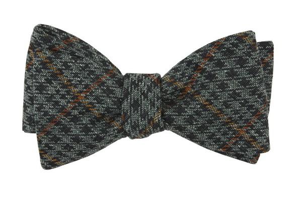 Quinn Plaid Moss Green Bow Tie