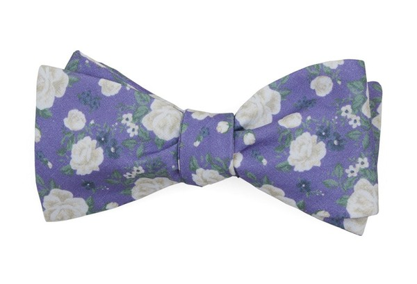 Hodgkiss Flowers Lavender Bow Tie