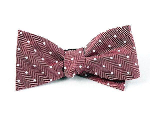 Textile Dots By Dwyane Wade Washed Red Bow Tie