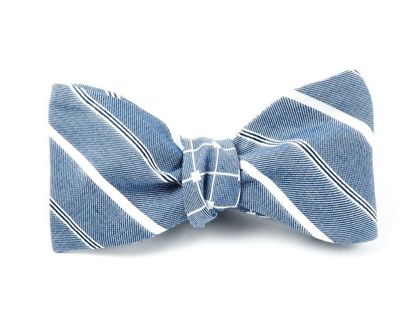 Chicago By The Tribune By Dwyane Wade Blues Bow Tie