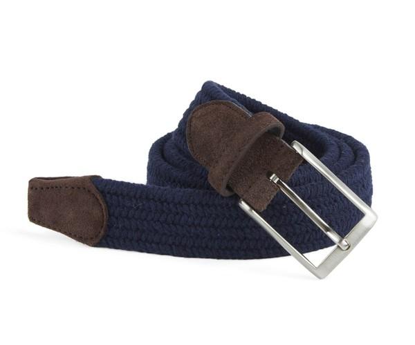 Braided Navy Belt
