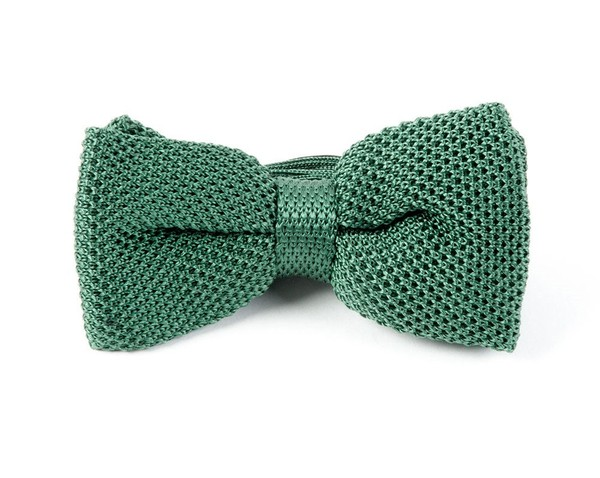 Knitted Hunter Bow Tie