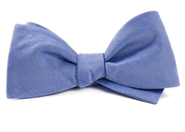 Linen Row Light Blue Bow Tie