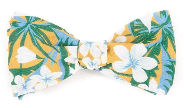 Tropic Of Linen Mango Bow Tie