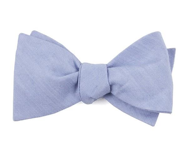 Linen Row Sky Blue Bow Tie
