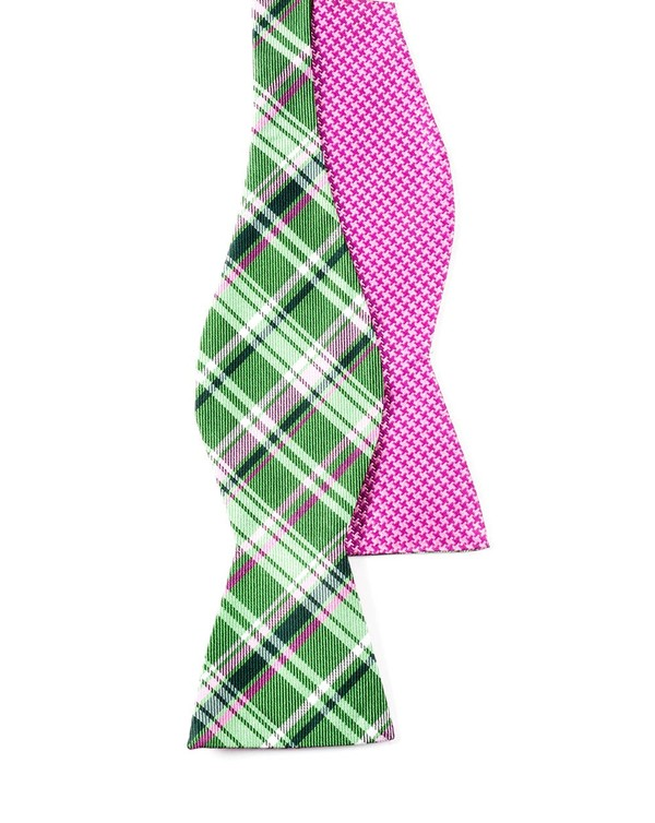 Plaiditude Tooth Kelly Bow Tie