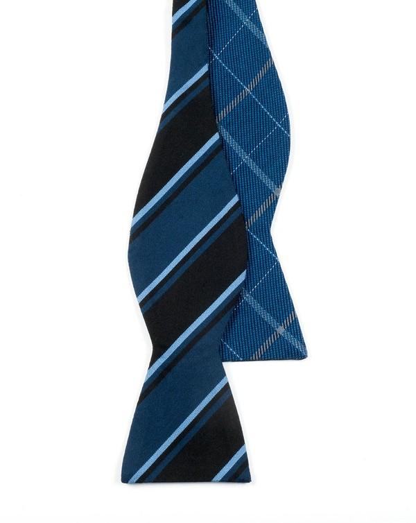 Sheridan Academy Navy Bow Tie