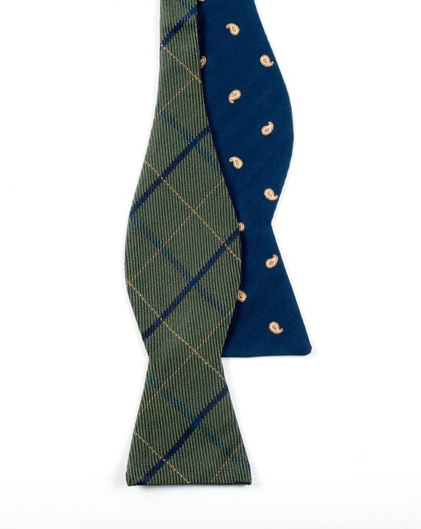 Subtle Sheridan Navy Bow Tie